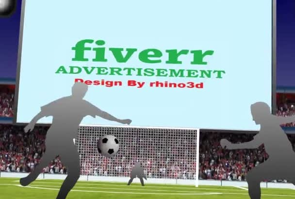 advertise your any Ad in soccer screens