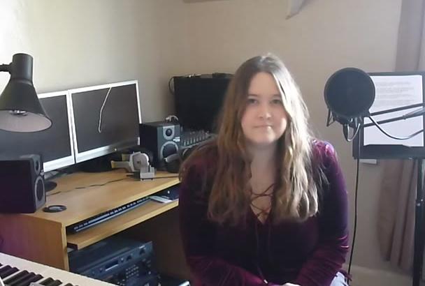 record a British female voice over