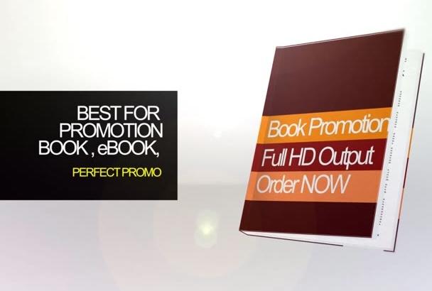create an incredible book promo