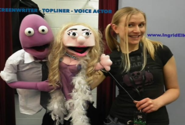 record female Australian voiceover fast