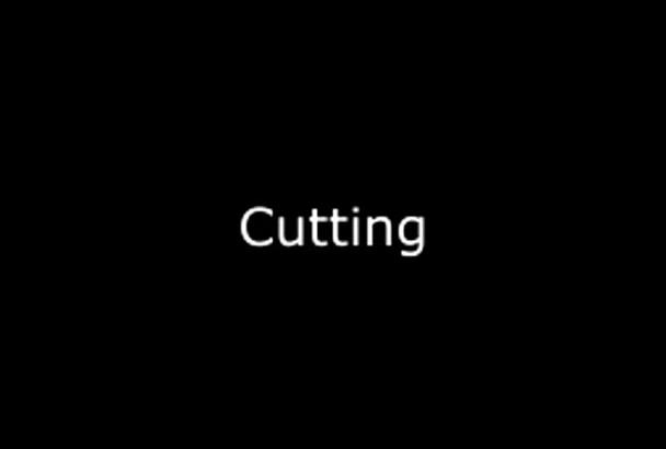 perform an audio editing