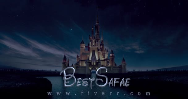 do CREATIVE Walt Disney intro video within 24h Full hd