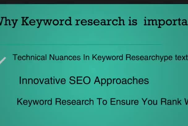 provide ten keywords for your niche website