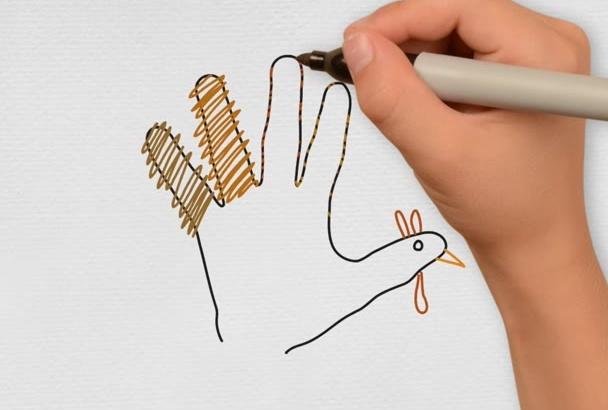 create a Whiteboard Animated Greeting Card or Invitation