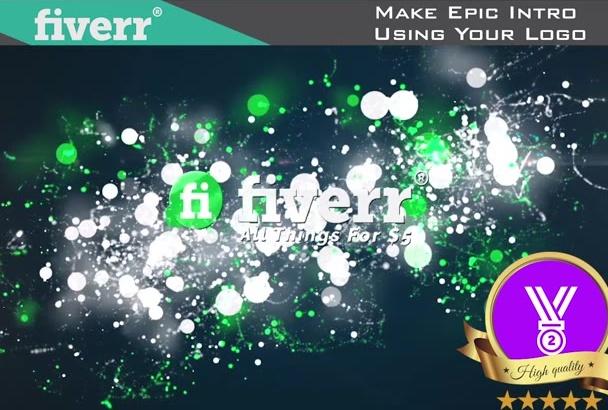 make Epic Intro Using Your Logo