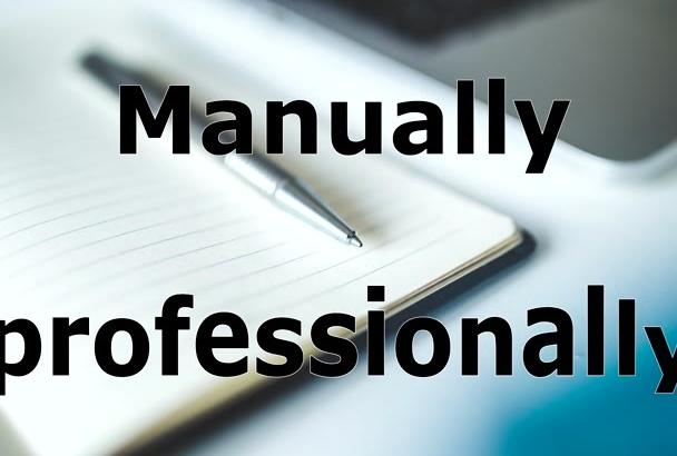 manually and professionally translate English to German