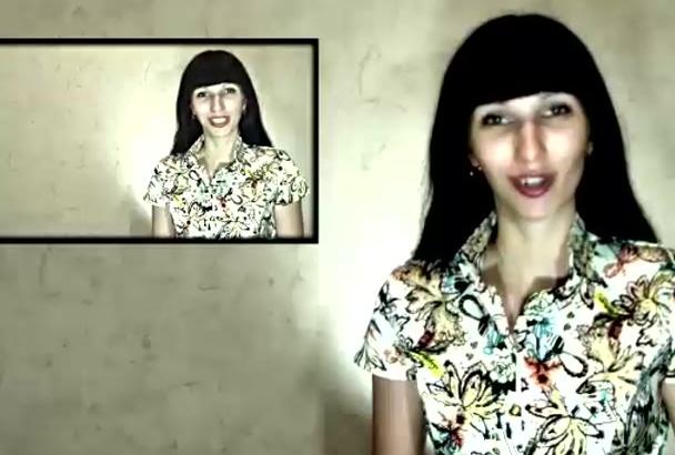 make you a natural testimonial or promo video, Rus