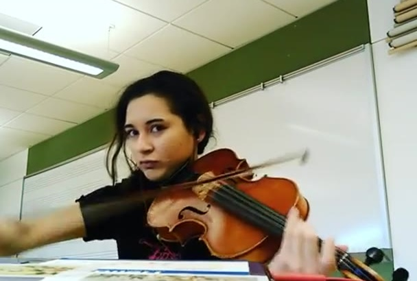 play viola for your song