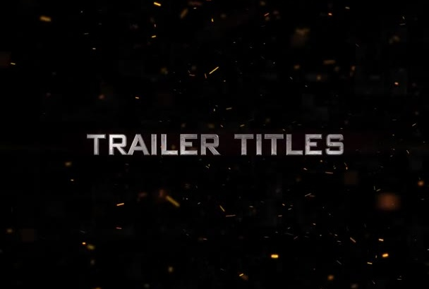 amazing cinematic movie trailer templates