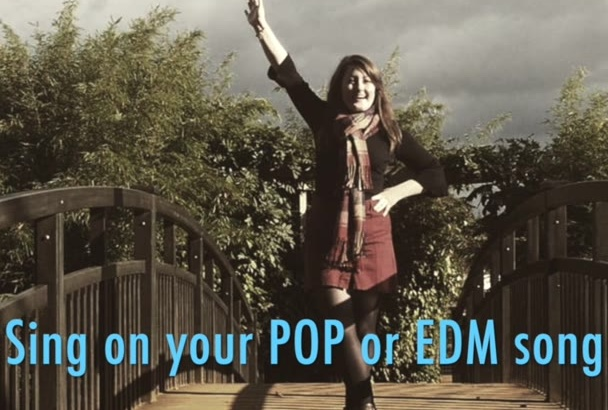 sing full vocal your pop or EDM song