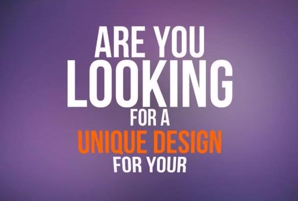 desing your ATTRACTIVE flyer, brochure, poster or menu