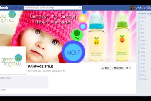 design a PROFESSIONAL Facebook cover photo, Twitter header or web banner