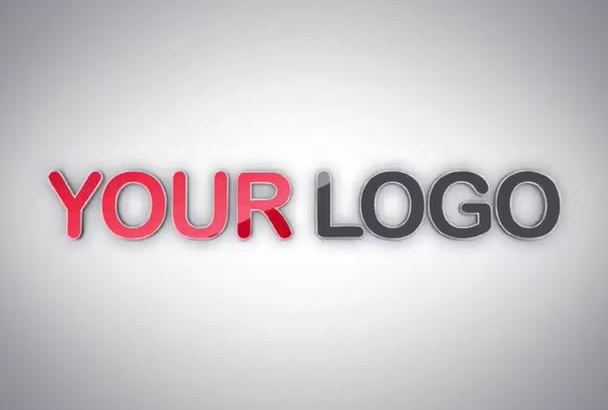 make 2 From 300 Professional logo animation for your company
