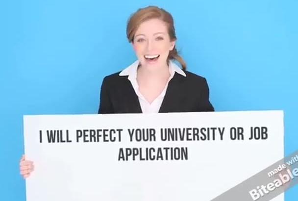 use my PhD skills to perfect your university or job application