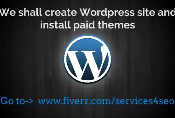 make WordPress Site With Paid Themes