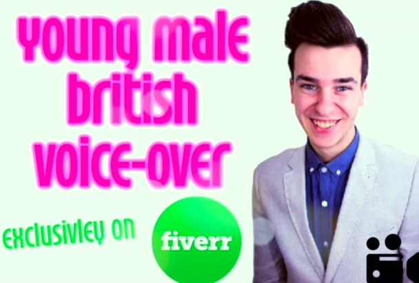 record any British voiceover