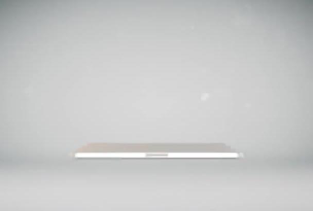 create a cool 3D laptop slideshow