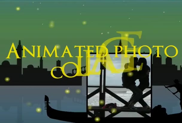 create awesome animated photo collage of your photos