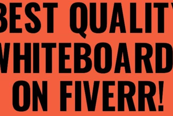 design Best Custom Whiteboard Videos on Fiverr