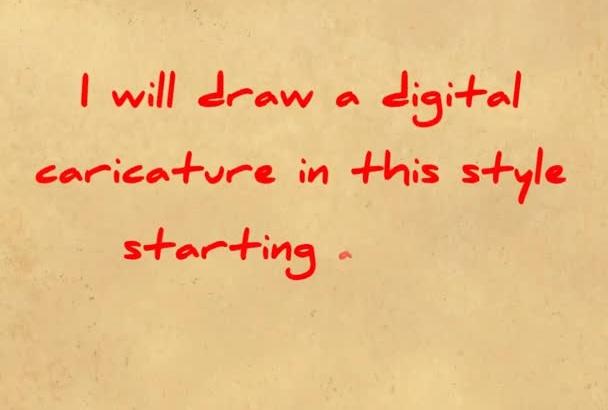 create a CARTOON portrait of your photo