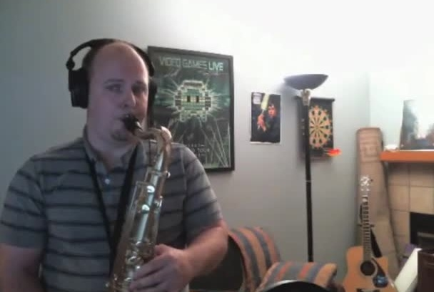 record saxophone parts for your next project