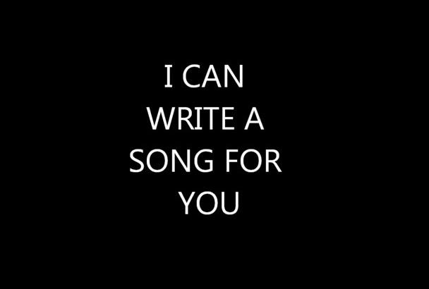 write you a POP song