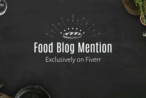 feature you on my cooking, food, recipes PR7 Blog