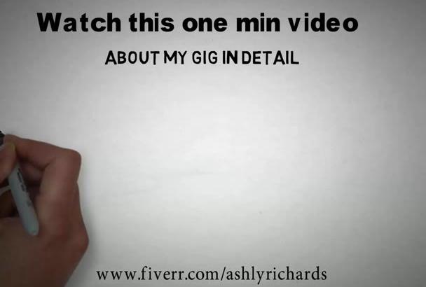 create Professional Whiteboard Video