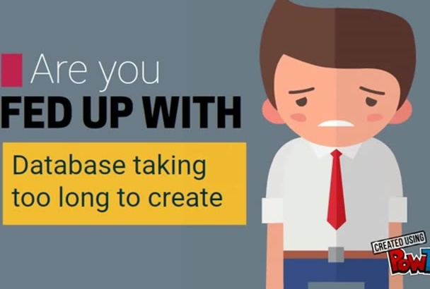 be your Top Notch database creator