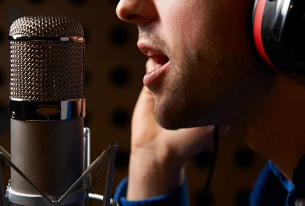 record you a High Quality Adult Male Voice Over
