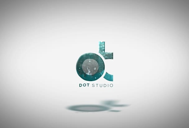 create professional logo intro