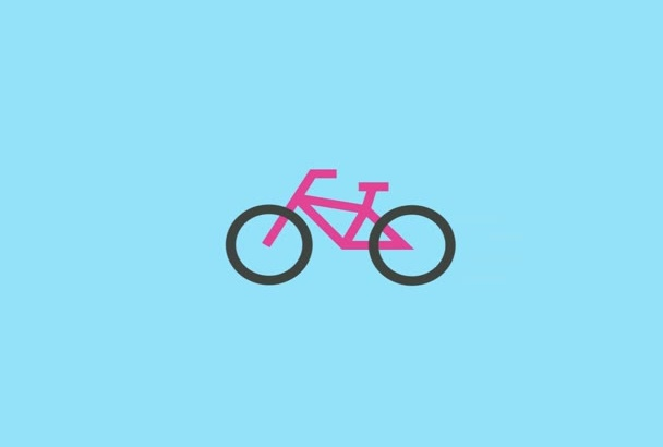 make a simple motion graphic video for you