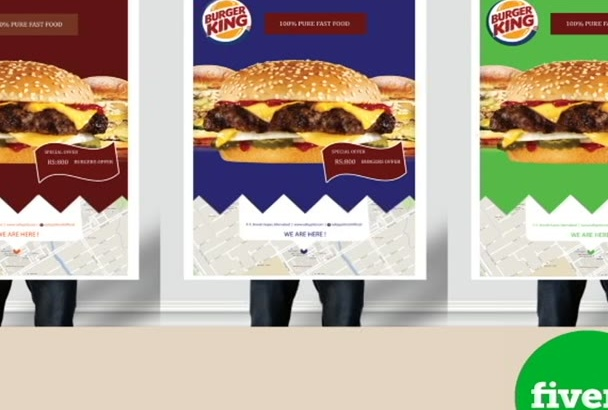 do creative poster and billboard design