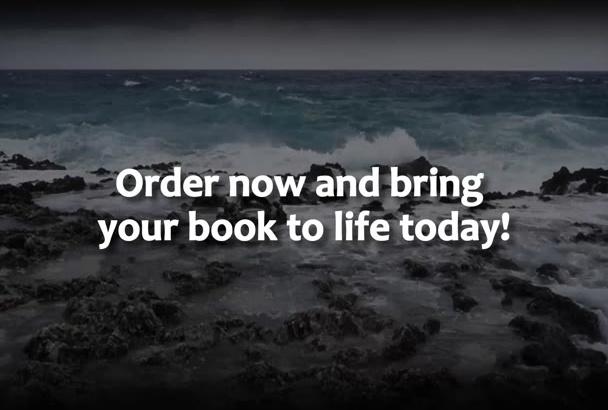 create HD book trailer