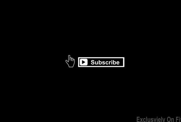 do Unique Creative Dark Logo Intro or Outro