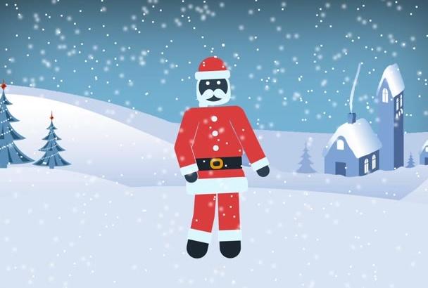 create outstanding Christmas promo video