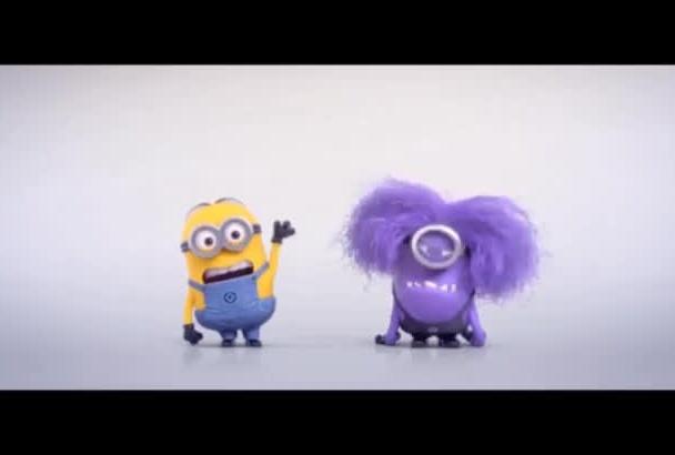 make a funny evil minion video promo by COLORPIXELSTUDIO