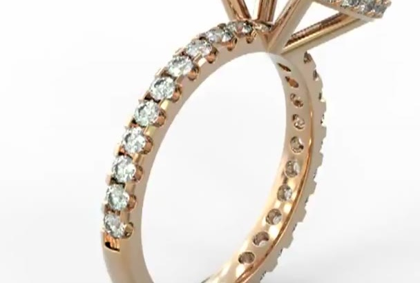 do 360 degree video of a 3D Jewelry Model