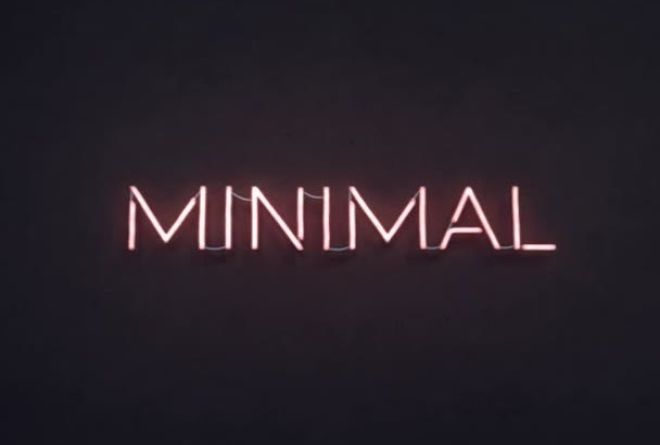 create Neon Light Effect on your Logo Or Text