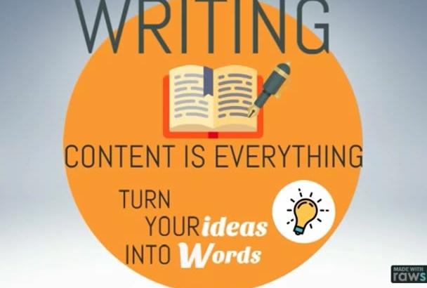 write fresh, original and engaging content EN or Italian