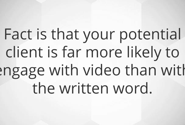 create a unique and original video sales letter for you