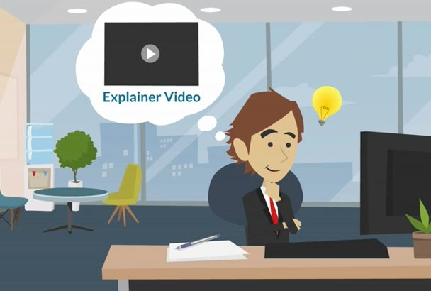 create 2D Animated Cartoon and Sales Video