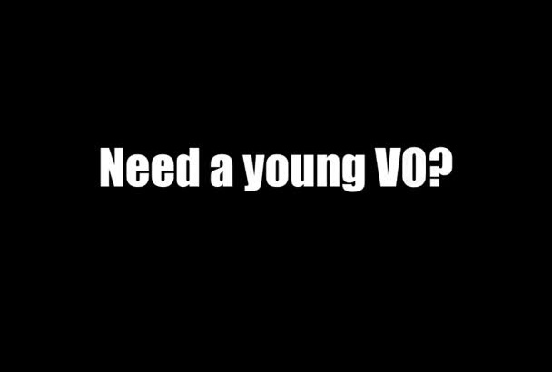 record a young Australian female voiceover