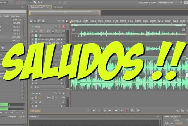 poner el fondo musical de tu preferencia a un audio