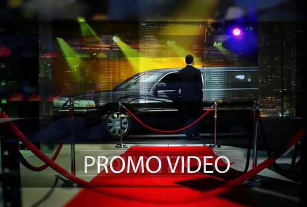 do video editing and make promo video of your events