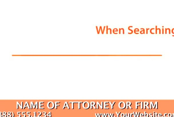personalize a video for an Elder Law Attorney