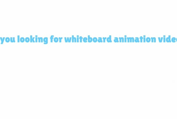 make an Whiteboad Animation
