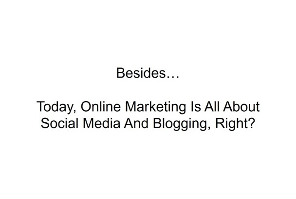 make your Video Sale letter up to 10 slides