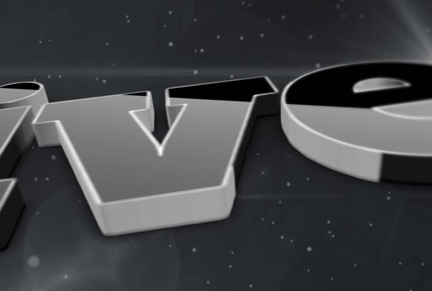 make 3D logo Intro With Awesome Background