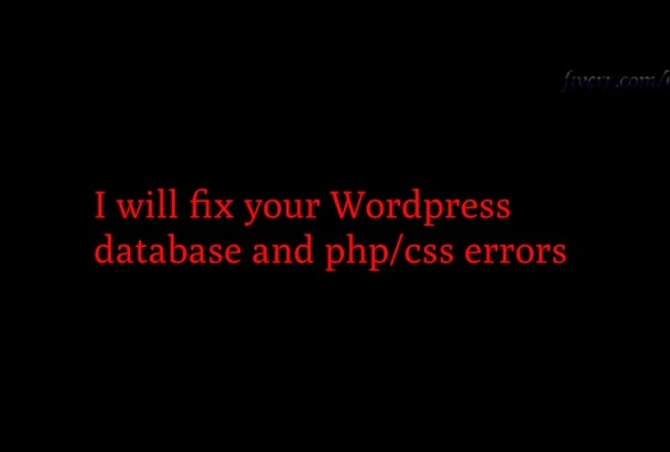 solve your WP issues